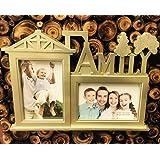 Satyam Kraft Plastic Home Shape Hanging Photo Frame For Home Decoration/wall Decor/gift/birthday Gift/anniversary Gift/wall Frame/Diwali Collection/Diwali Gift/Diwali Decor