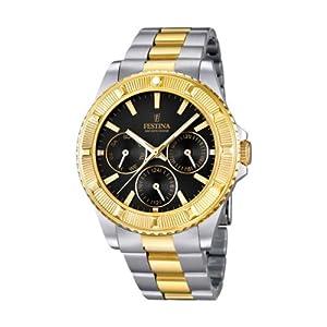 FESTINA F16691/5 – Reloj de Pulsera Unisex, Acero Inoxidable, Color