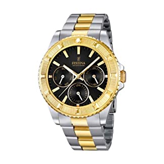 FESTINA F16691/5 – Reloj de Pulsera Unisex, Acero Inoxidable, Color Bicolor
