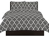 Die besten Bettbezüge - Utopia Bedding Bedrucktes Bettbezug-Set - Gebürstete Mikrofaser Bewertungen