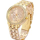 Geneva Analog Gold Dial Women's Watch-g7475_D