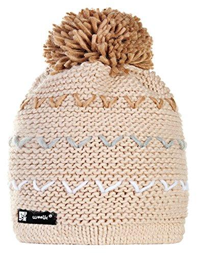 Wollig Wurm Winter NORDIC Spirit Beanie Mütze mit Ponpon Damen Herren HAT HATS Fashion SKI Snowboard Morefazltd (TM) (Spirit 79)