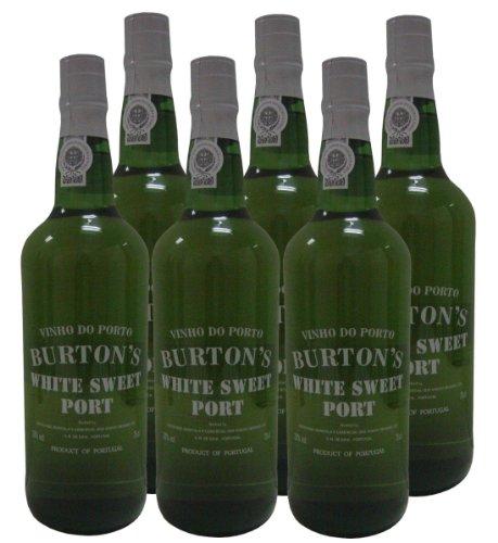 6-x-750-ml-PORT-WINE-BURTON-S-WHITE-SWEET