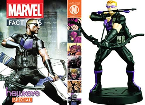 Le rythme cardiaque cardiaque cardiaque est pire que l'action! Marvel Fact Files Collection Hawkeye | Approvisionnement Suffisant  698920