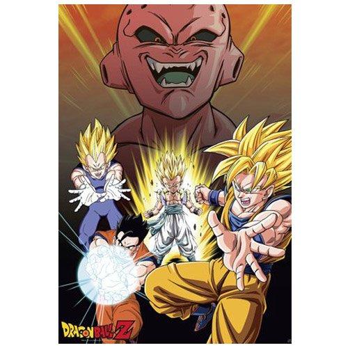 ABYstyle-abydco271-Póster-Dragon Ball-Buu vs Saiyans