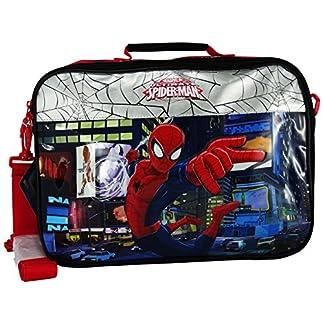 Marvel Spiderman Carteron Bandolera Mochila para el Niño Escuela Viaje Tablet Pc