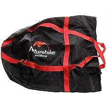 NatureHike Peso Ligero Compresion Cosas Saco Acampar Exterior Saco de Dormir Paquete Almacenamiento transporte Bolsa Negro