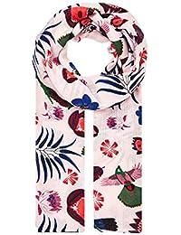 HALLHUBER Tropical print scarf