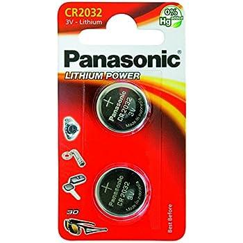 Panasonic CR2032 Alcalino 3V batería no-recargable - Pilas (Alcalino, 3 V, 220 mAh, 2,9 g, coin)