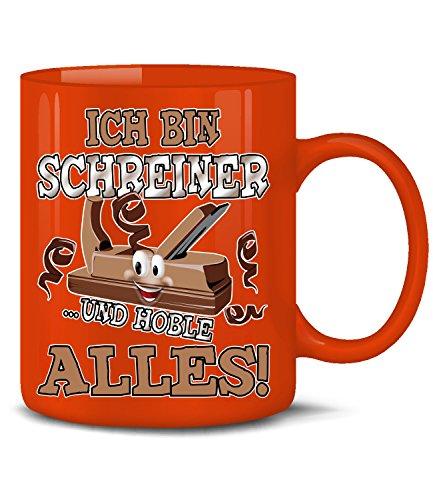 Schreiner Maler (ICH BIN SCHREINER UND HOBEL ALLES 4803(Rot))