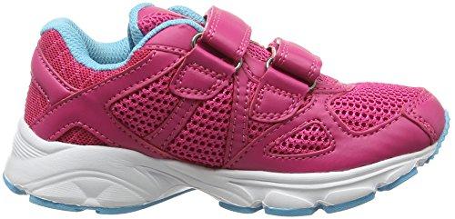 Hi-Tec Mädchen R200 Ez Junior Girls Hallenschuhe Pink (Pink/blue/lime 076)