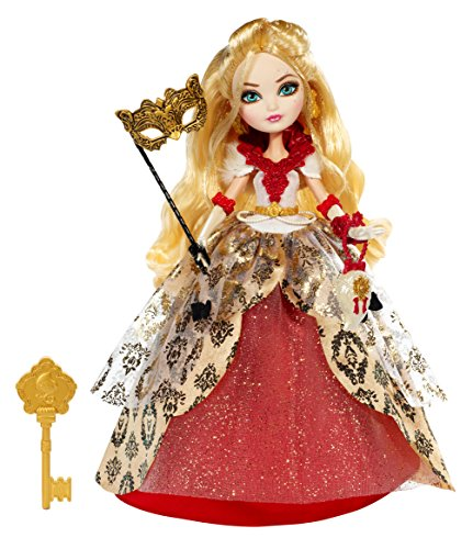 Mattel Ever After High Thronecoming Apple White Doll (Apple Ever High After)