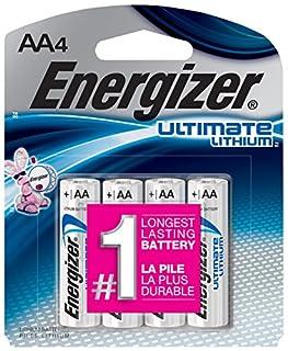 Energizer L91BP-4 batería no-recargable - Pilas (Litio, Cilíndrico, 1,5V, -40-60 °C, -40-60 °C, 5,05 cm) (B00003IEME)   Amazon price tracker / tracking, Amazon price history charts, Amazon price watches, Amazon price drop alerts