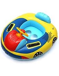remeehi aufblasbare Schwimmen sitzen Kreis Cartoon Kinder Schwimmen Ring Baby Boot Ride Wasser Spielzeug aufblasbar Wasser Transport