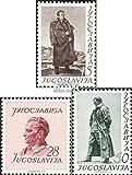 Yougoslavie 693-695 (complète.Edition.) 1952 josip broz tito (Timbres pour les...