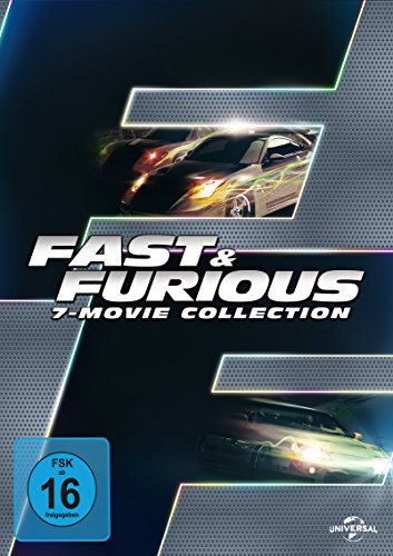fast and furious dvd box Fast & Furious 1-7 - Box [7 DVDs]