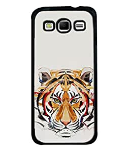 PrintVisa Designer Back Case Cover for Samsung Galaxy S3 I9300 :: Samsung I9305 Galaxy S Iii :: Samsung Galaxy S Iii Lte (Royal Attitude in ivory tiger yellow)