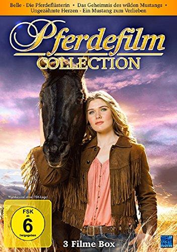 Pferdefilm Collection - Belle - Die Pferdeflüsterin/Das Geheimnis des wilden Mustangs/Ungezähmte Herzen - Ein Mustang zum verlieben