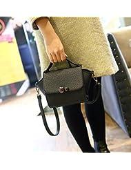 X&L Las mujeres de moda bolso mensajero bolsa bolsa de hombro , black new recommendations