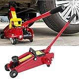 Neufday Vehículo de Gato de elevación de Piso, Mini vehículo portátil de elevación de Piso de 2 toneladas Garaje de automóvil Auto Horizontal hidráulico