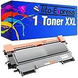 Toner-Kartusche XXL PlatinumSerie Schwarz kompatibel für Brother TN-2010 HL-2130 HL-2132 HL-2135W DCP-7055 DCP-7055W DCP-7057