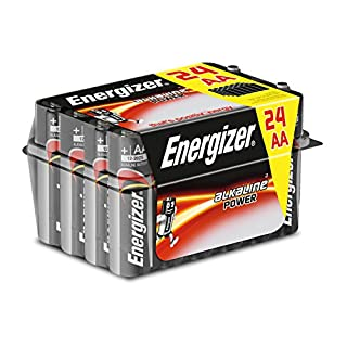 Energizer Aa Pack Of 24 Alkaline Batteries E300456400