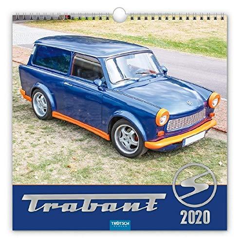 """Technikkalender \""""Trabant\"""" 2020: 30 x 30 cm,"""