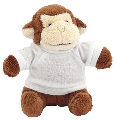 Shopzeus Mono Peluche Llavero Camiseta Personalizada