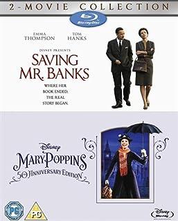 SAVING MR BANKS & MARY POPINS 50th ANNIVERSARY EDITION Bluray