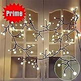 LED Lichterkette Kugeln Innen Weihnachten Lichterkette 2.5M 72 Kugeln in verschiedenen Weihnachtenbeleuchtung Dekoration For Weihnachten, Halloween, Schlafzimmer, Balkon, Garten, Hochzeiten