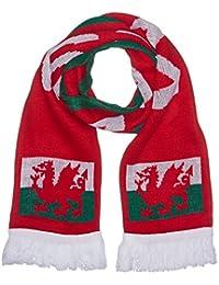 Supportershop Echarpe Pays de Galles Rouge 150 x 20 cm
