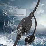 SIMBR Schuko Verlängerungskabel Gummi Kabel für den Außenbereich IP44 H07RN-F 3G 1,5mm (20m) für SIMBR Schuko Verlängerungskabel Gummi Kabel für den Außenbereich IP44 H07RN-F 3G 1,5mm (20m)