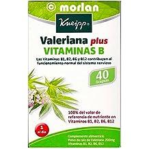 Kneipp Valeriana Plus Vitaminas B, 40grageas