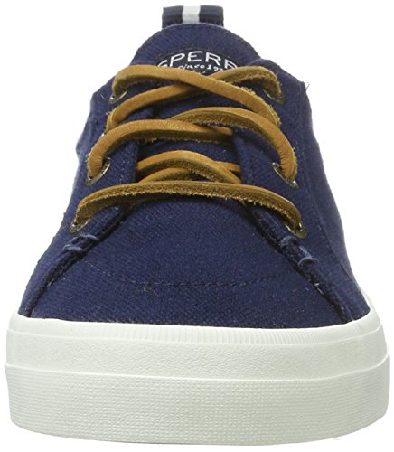 Sperry - Crest Vibe Wash Linen Navy, Pantofole Donna blu (navy)