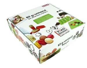 Yoko design 1203 kit gourmand utensili per pasticceria for Arredamento pasticceria prezzi