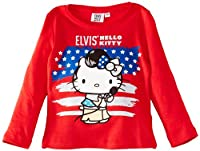 Elvis Hell HM1492.I00 Girl's T-Shirt Red 4 Years