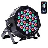 Disco Lights U`King 36 LEDs Strobe Lights 7 Lighting Modes DJ Light RGB