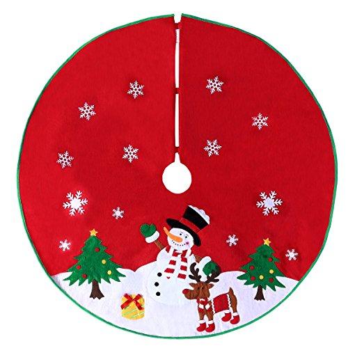 """Árboles falda para árbol de Navidad y # xFF0C; Para con 4pies de alto o menos, cute diseño con temática de Navidad diámetro 36"""""""