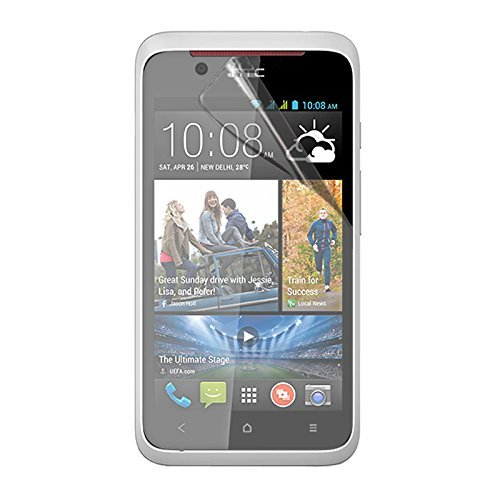 Stuffcool Crystal Clear Screen Protector Screenguard for HTC Desire 210 (CCHC210)  available at amazon for Rs.90