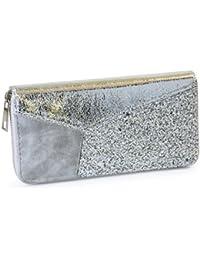 Fossil Damen Taschen-Geldbörse Brieftasche RFID Portmonee Emma Black Floral