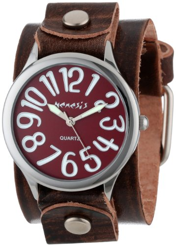 Nemesis Women's BGB108R Colorful Different Color Numbers Watch