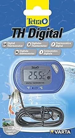 Tetra th digital thermometer termometro digitale con sonda for Termometro per acquario tartarughe