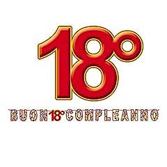 Idea Regalo - BiG Party Kit Scritta maxi Buon 18 Compl. Stardust mt.6