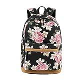 Lefu Sacs d'école Sac à Dos Adolescente Filles Bookbag Capacité de Voyage Sac à Dos