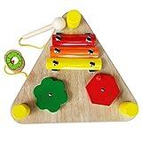 MagiDeal 6-en-1 Juguetes Montessori de Sonido Instrumento Musicales de Madera para Niños Más de 3 Años