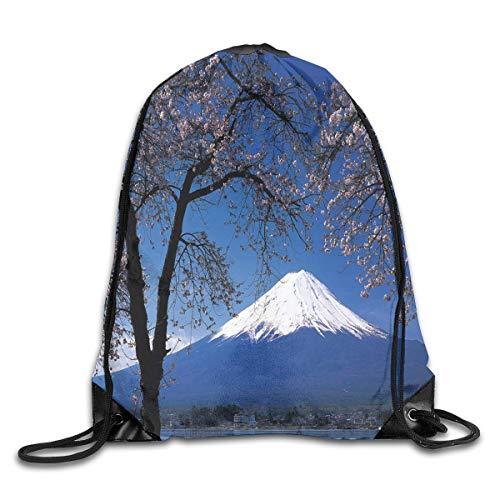 Mount Snow (Michael Staton Rucksackbeutel mit Kordelzug Japan Snow Mount Rucksack für Sportreisen)