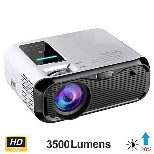 JiaDY-Projektor Heim-Media-Player HD-Anschluss Projektor LED-Projektor Heimprojektor LCD Full HD 1080P-Projektor HDMI 1000: 1 3D-Filmspiel Heimkino-Unterhaltungs-Multimedia-Player