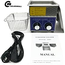 2L Professional Stainless Steel Ultrasonic Cleaner Eyeglasses Jewelry Cleaner Cleaning machine Mechanical heating Timing adjustable 110V/220V