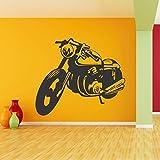 StickMe 'Mens Best Friend - Bike Wall Sticker'- SM 091 ( PVC Vinyl - 100cm X 95 Cm )
