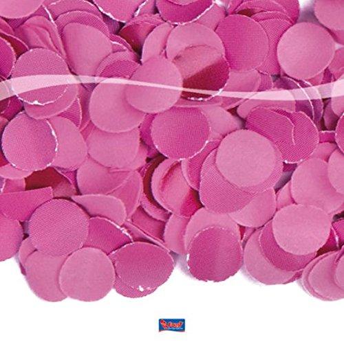 Party Konfetti pink im 100 Gramm Beutel